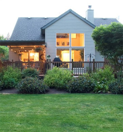 When you die, who will inherit your home, belongs, and debt? Image of a home you may be legally entitled to.