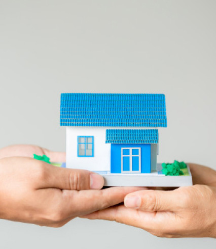 Handing over a model home after a loved one dies