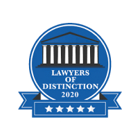 Jenna Bailey received the Lawyer of Distinction award in 2020